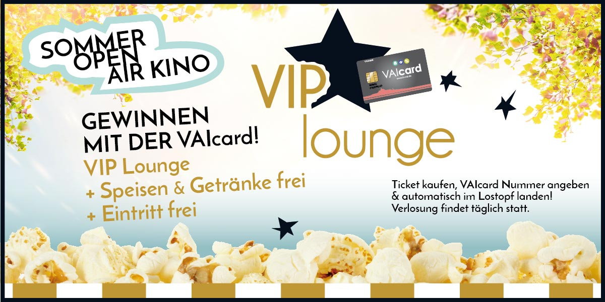 VIP-Lounge Open Air Kino